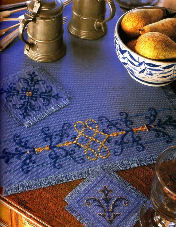 Gallery.ru / Фото #21 - Elizabethan Cross Stitch - Orlanda