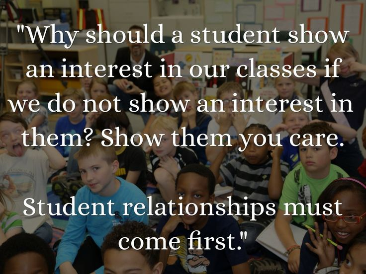 "My Kids Come First Quotes: ""Why Should A Student Show An Interest In Our Classes If"