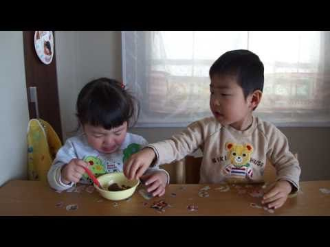 I'm a daddy and I know it: Triplets fighting over BALL - YouTube