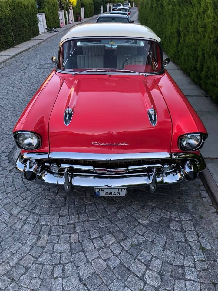 1956 Chevrolet Bel Air 4 Door Sedan Belair Usa Canada American