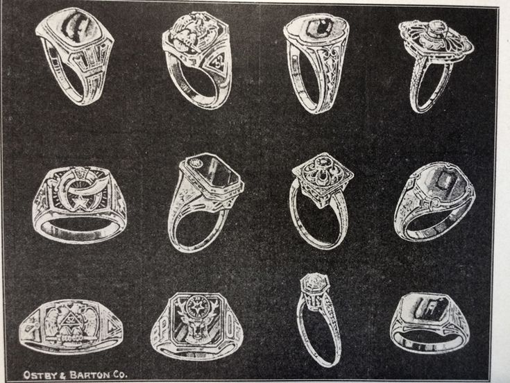 Ostby Barton Jewelry Ring Ads