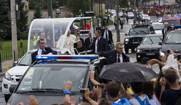 Światowe Dni Młodzieży 2016 w Krakowie: RELACJA NA ŻYWO: Papież już w Krakowie