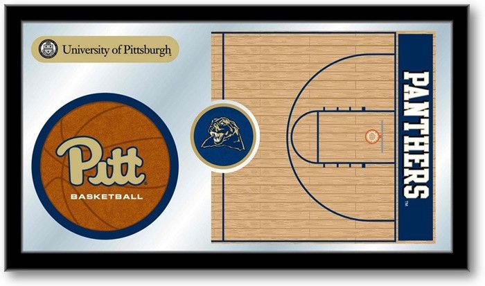 Pitt Panthers Basketball Sports Team Mirror at SportsFansPlus.com. Visit website for details!