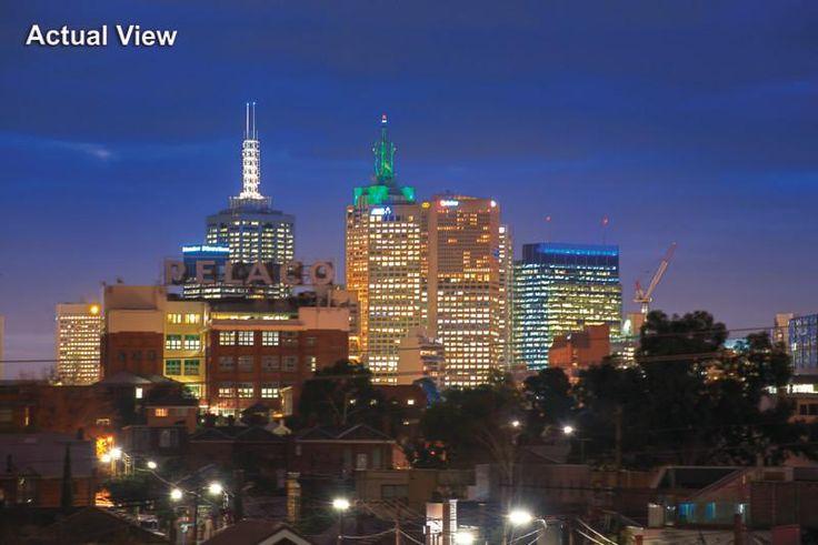 Richmond at night