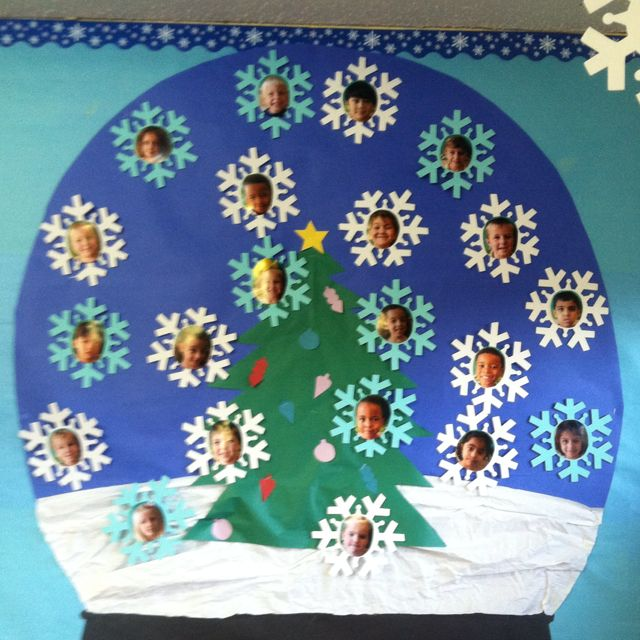 Pre-K is Snow much fun!! (a board in my classroom)