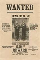 Remembering Jesse James: Famous Outlaw in Old American West