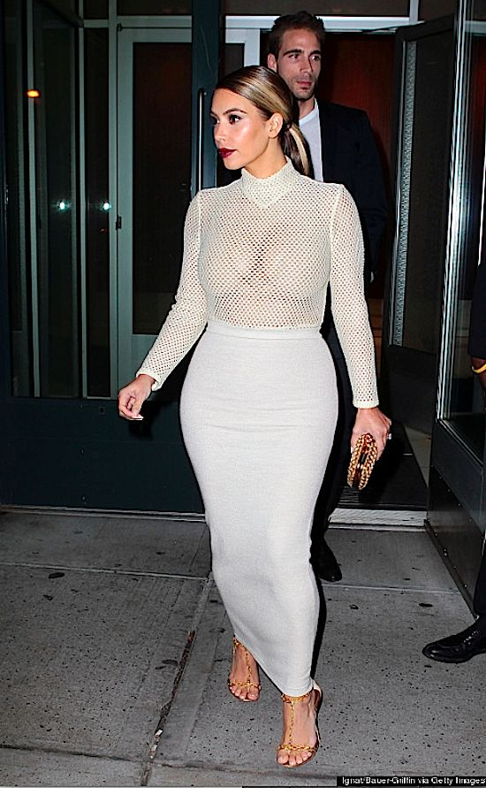 kim kardashian wears completely see through top in chilly. Black Bedroom Furniture Sets. Home Design Ideas