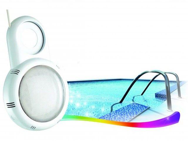 Retrouvez le projecteur LED pour piscine hors sol, montage sous buse a prix discount sur le specialiste de la piscine - Lekingstore - LeKingStore