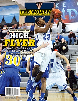 Basketball Recruiting Issue - June/July 2012.    This month's issue of The Wolverine, with five-star signee Glenn Robinson III on the cover, provides complete coverage of U-M's basketball recruiting.