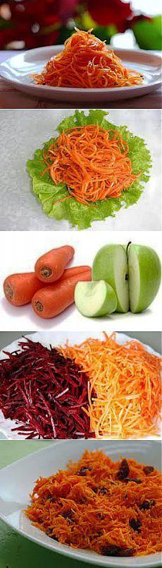 Морковь для похудения. Диетические рецепты из свежей моркови