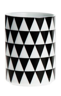 ferm LIVING / Porcelánový hrneček Geometry 3