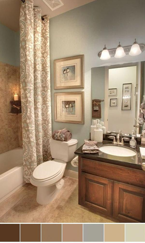 111 World S Best Bathroom Color Schemes For Your Home Blackbathroomdecor In 2020 Bathroom Color Schemes Bathroom Color Small Bathroom Colors
