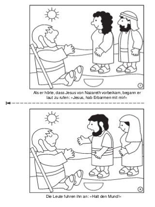 Heilung Des Blinden Bartimäus
