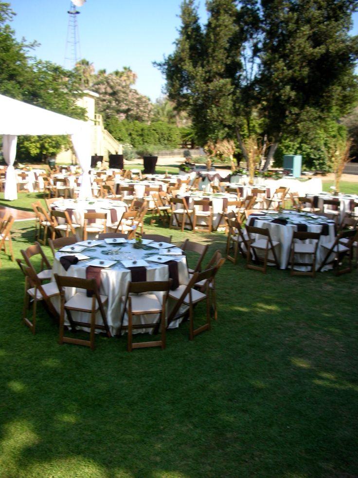 Outdoor wedding reception Outdoor wedding reception