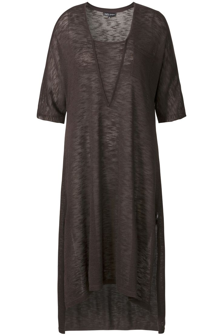 Ethnic Light | Summer collection | Knitted | Tunic | Ebony