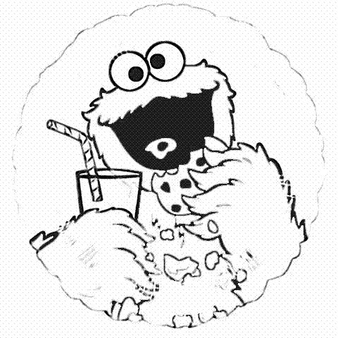 8 best Cookie Monster images on Pinterest | Coloring books ...