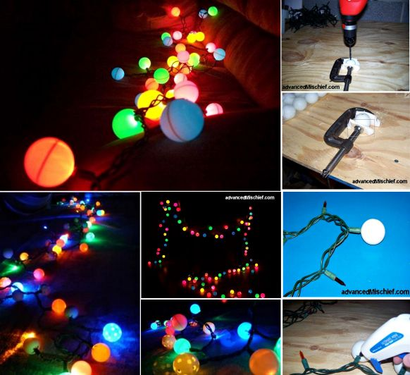 The 25 best ideas about ping pong lights on pinterest - Ping pong christmas lights ...