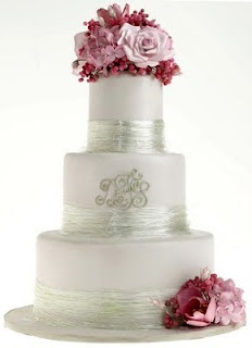 Big fan of the spun sugar around the base instead of a ribbon....lovely look.    Thanks Elizabeth Hodes