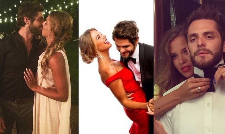 """Thomas Rhett and his wife, Lauren, have been together since elementary school, but that doesn't mean the romance has died. As Thomas prepares to release his sophomore album, Tangled Up, he's shared a new track written especially for his love, """"Die A Happy Man.""""        Girl you got me #TangledUp A p..."""