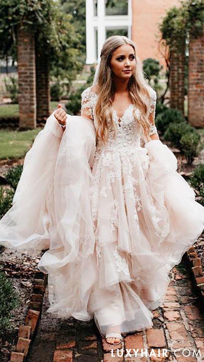 "dirty blonde - 20"" (220g) in 2019   wedding hair inspiration"