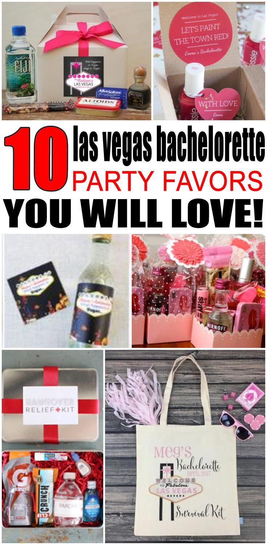 Las Vegas Bachelorette Party Favors Best Bachelorette Party Ideas