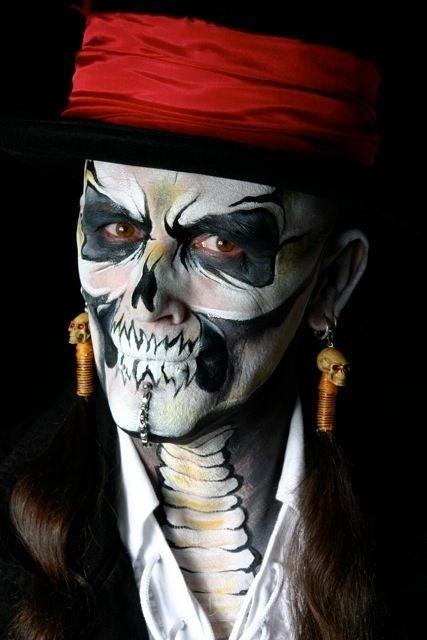 Pirate! Maquillaje pirata, Maquillaje halloween hombre, Maqu