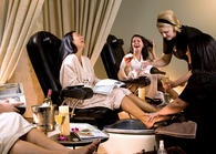 Bachelorette Party Idea - Wine and Unwind Package from Grand Traverse Resort & Spa near Traverse City, MI.  See website for details!