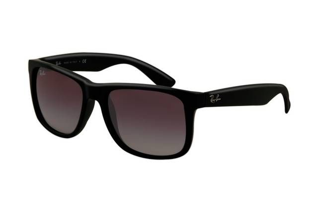 Ray Ban Justin RB4165 Sunglasses Wine Red Frame Purple Gradient Lens