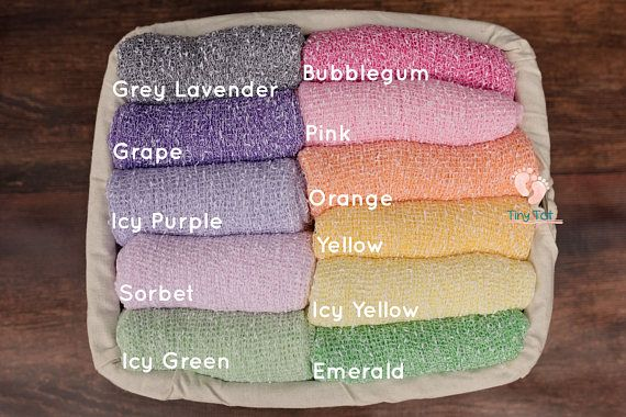 Two-Toned Stretch Knit Wraps for Newborn Photography. High Quality, Quick Shipping, Fantastic Shop! Tiny Tot Prop Shop <3