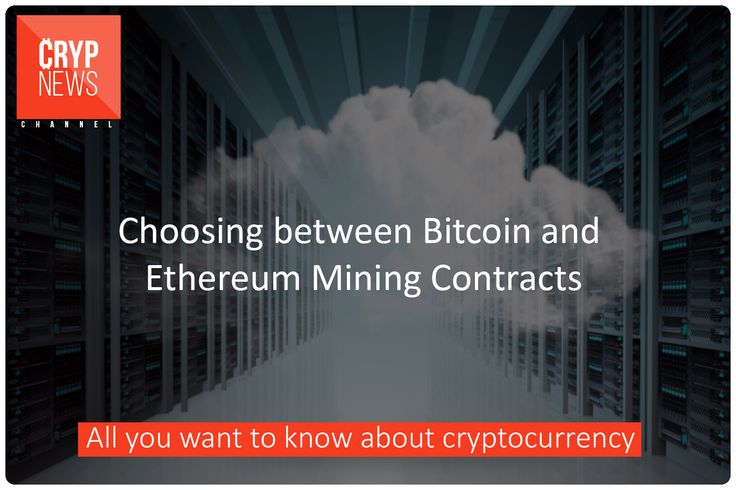 Choosing between Bitcoin and Ethereum Mining Contracts  It is never easy to choose crypto currency mining contracts. You need to know several things. Is the contract legitimate? Even if it is genuine, there will always be downsides. Is it a fair deal? Find out if the price is just right. The key is to have guidelines in choosing Bitcoin or Ethereum mining contracts.  How to Achieve it?  Your first move is to categorize or grade the contracts. Utilize live data that provides complete metrics…