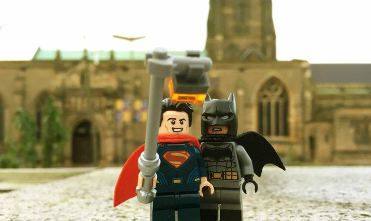 How about a selfie, Bruce? ( idea inspired from another lego fan )