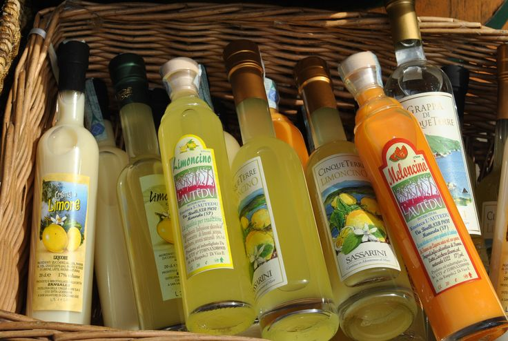 Limoncello and other fine drinks