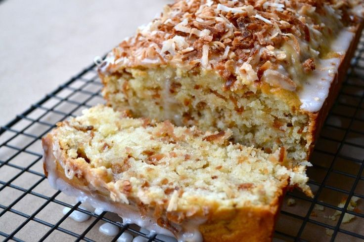 Toasted Coconut Loaf Cake