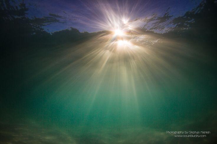 Underwater Sunrise by oceanbluesky.com