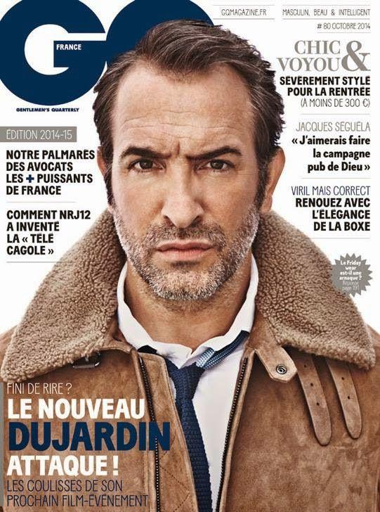 Jean Dujardin en portada de GQ Francia Octubre 2014