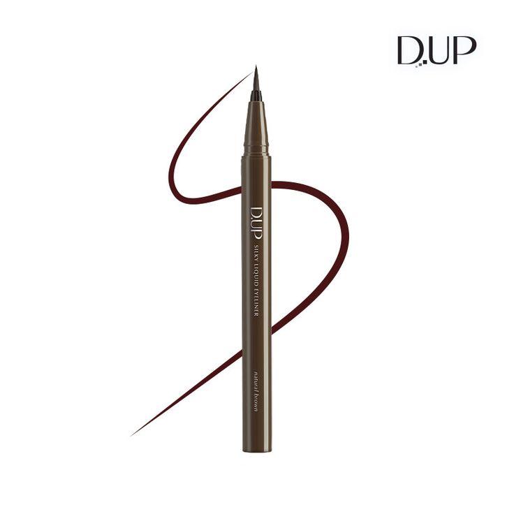 실키 리퀴드 아이라이너 내츄럴 브라운 D-UP Silky Liquid Eyeliner Natural Brown
