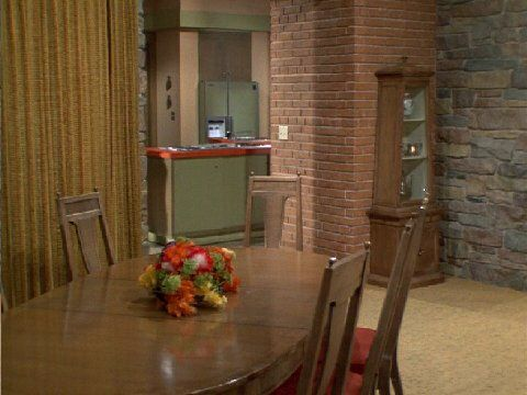The Brady Dining Room | The Brady Bunch | September 1969 U2013 March 1974