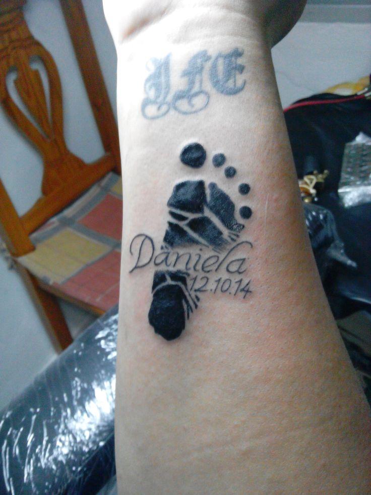 Tatuaje Huellas De Bebe