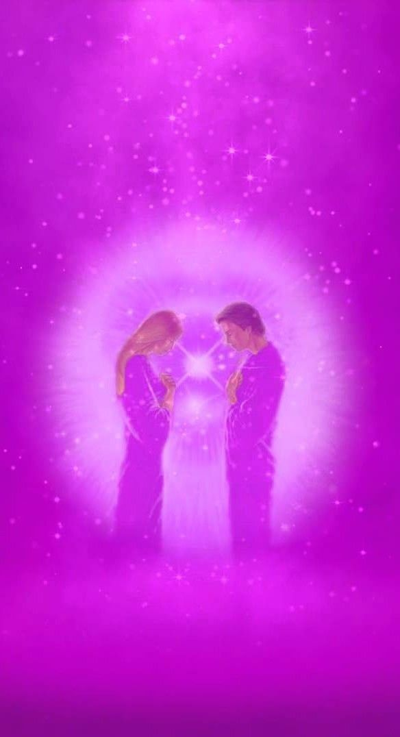 Give the Violet Flame often to find your higher love    | Violet