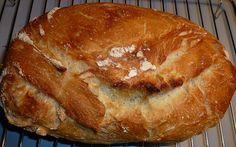 Endelig langt om længe kom den dag min til formålet anskaffede Römertopf blev taget i brug for at kunne fremstille Verdens bedste brød. Jeg gjorde næsten som det fremgår af opskriften på kvalimad.d…