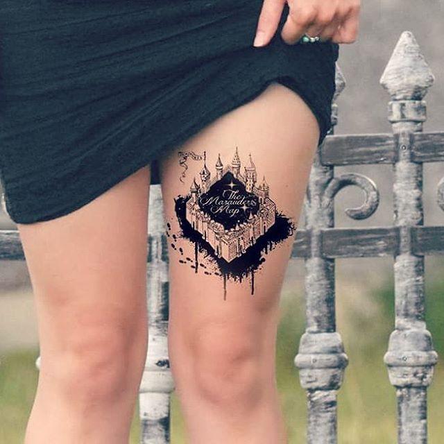 Harry-Potter-Tattoos, die am besten zu haben wären