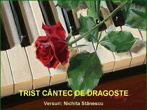 Trist cântec de dragoste - Nichita Stănescu - YouTube