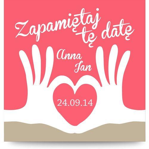 Save The Date : magnetCards.pl | Oryginalne zaproszenia ślubne, na chrzest i komunię, save the date, magnesy na lodówkę