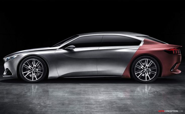 Peugeot Previews 'EXALT' Luxury Saloon Concept
