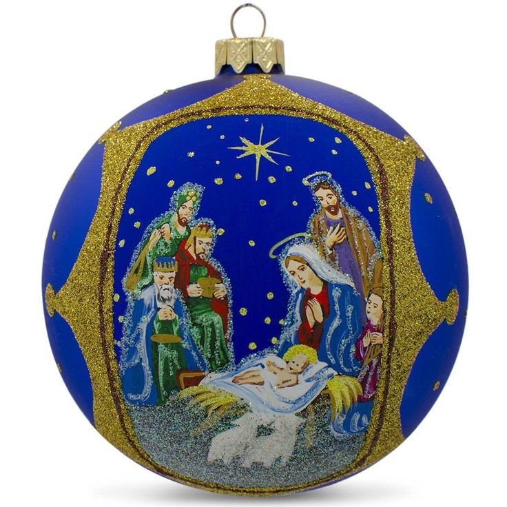 Vintage Religious Nativity Christmas Ornament: 968 Best Nativity TREE ORNAMENTS Images On Pinterest