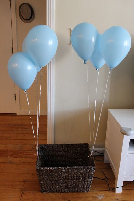 Chic Parisian: Mathieu's first Birthday party - Baby boy first birthday party idea - light blue