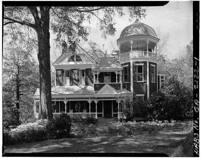 1.  GENERAL VIEW - New Haywood, 201 West Robert Toombs Avenue, Washington, Wilkes County, GA