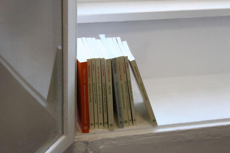 nasze książki!!! Pamiętajcie, że jesteśmy wydawcą książek o jodze i ajurwedzie!
