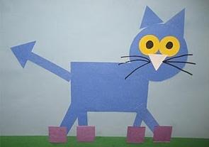 shapes: Pete the cat