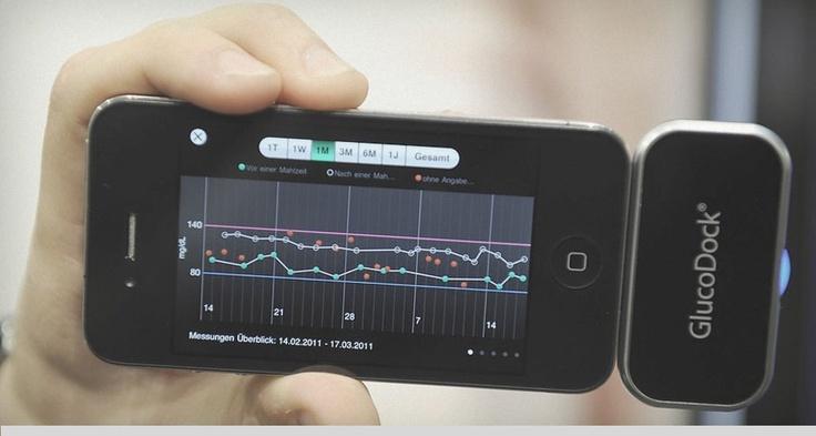 Glucodock transforma seu iPhone em um medidor de glicemia